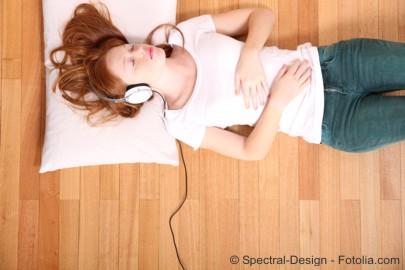 Geräuschmassage Schlaf