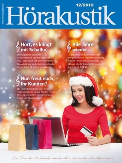 Hörakustik Titel Dezember-Ausgabe